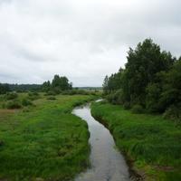 Река Ривица. Вид с моста