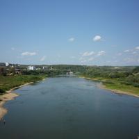 Река Ока. Вид с моста