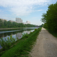 Канал имени Москвы (неподалёку от Волоколамского шоссе)