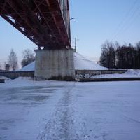 Народная тропа через канал им. Москвы
