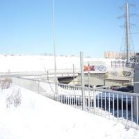 Канал проходит над Волоколамским шоссе