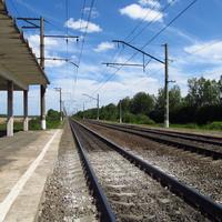 Станция 332 километр. В сторону Малино.