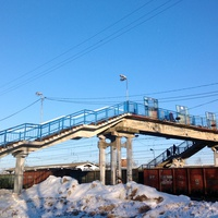 Мост через ж/д Пути.