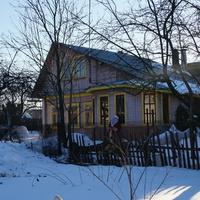 Дом с Дедом Морозом