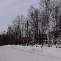 Верховье г.Онега. ул. Ленина. 25.02.2013г