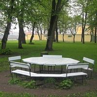 Сады Смольного Собора