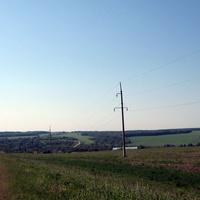Дорога к Ержино