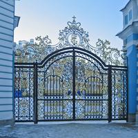Ворота Екатерининского дворца