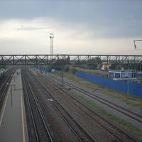 Ст. Колодезная. Вид с переходного моста