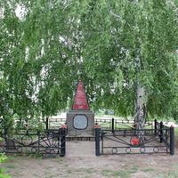 братская могила воинов,павших в ВОВ на северной окраине