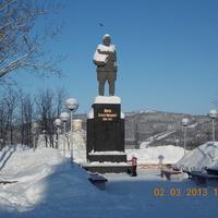 Памятник С.М. Кирову на одноимённой площади