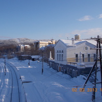 "Ж/д вокзал станции ""Мурмаши"""