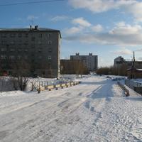 Мост через Кротов ручей, дом № 16 по ул. Советская