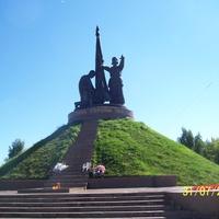 Чебоксары памятник ВОВ
