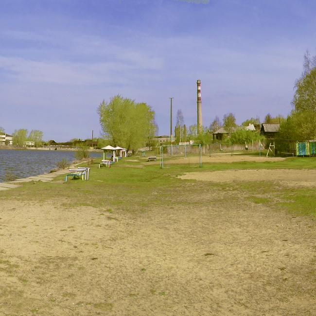 """Городской пляж """"Металлург"""". май 2012"""