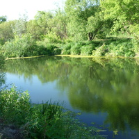 река Карачан.
