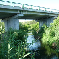 Новый мост через р. Карачан