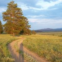 Долина к югу от Заиграево