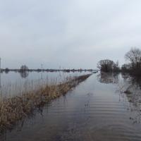 Дорога была затоплена уже капитально