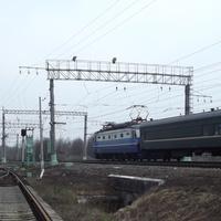 Пассажирский поезд на Рязань