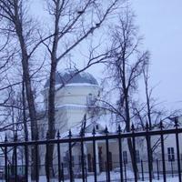 Белоомут. Церковь Преображения Господня