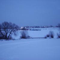Вид на Оку и Белоомут с правого берега