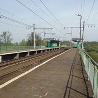 Платформа Трофимово. Солнечная и пустынная