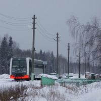 Станция Рязановка и рельсовый автобус