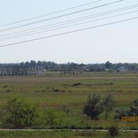 ЖД мост через Молочную, Светлодолинское