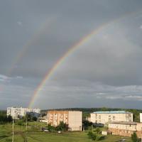 п.Курумоч после дождя