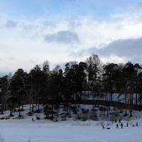 Зима на Суздальских озерах.