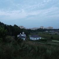 Церковь иконы Божией Матери «Живоносный Источник» на фоне Жуковского