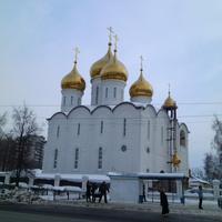 Жуковский. Церковь Преображения Господня