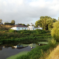 Церковь иконы Божией Матери «Живоносный Источник» на берегу Быковки