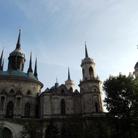 Церковь Владимирской иконы Божией Матери (Рождества Христова) в усадьбе Быково,проект Баженова