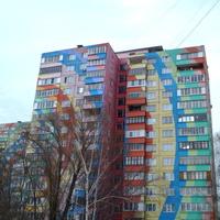 Дом в цветах радуги