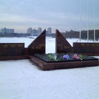Мемориал в память погибшим в годы войны 1941-1945