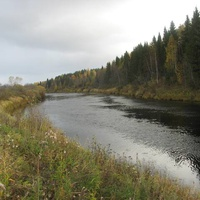 река Мехреньга у родника