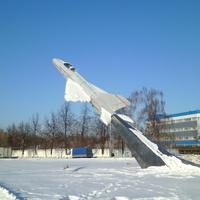 Самолёт-памятник в Жуковском