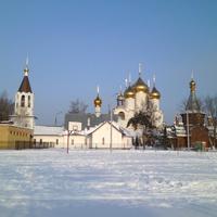 Жуковский. Церковь Преображения Господня,  храм-крестильня Иверской иконы Божией Матери