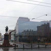 Памятник Петру Великому.