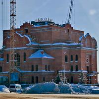 Храм строится. Март-2013.