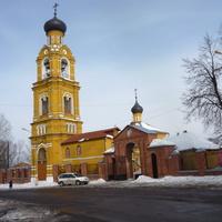 Свято-Никольский собор на Селивановой горе (1642-й г.)