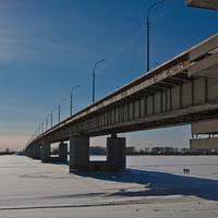 Краснофлотский мост в марте