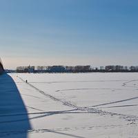 Вид на левый берег Северной Двины
