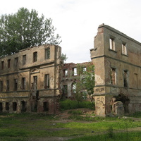 Руины дворца Александра I