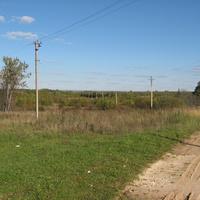 Вид от деревни Загорье