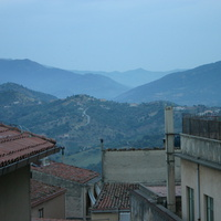 Панорама гор из Кастельбуоно