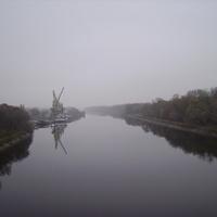 Канал им. Москвы. Вид с Дмитровского моста