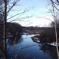 Красноармейск, река Воря